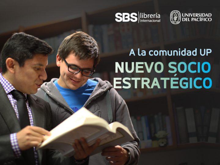 La Universidad del Pacífico suscribió convenio estratégico con SBS Librería Internacional