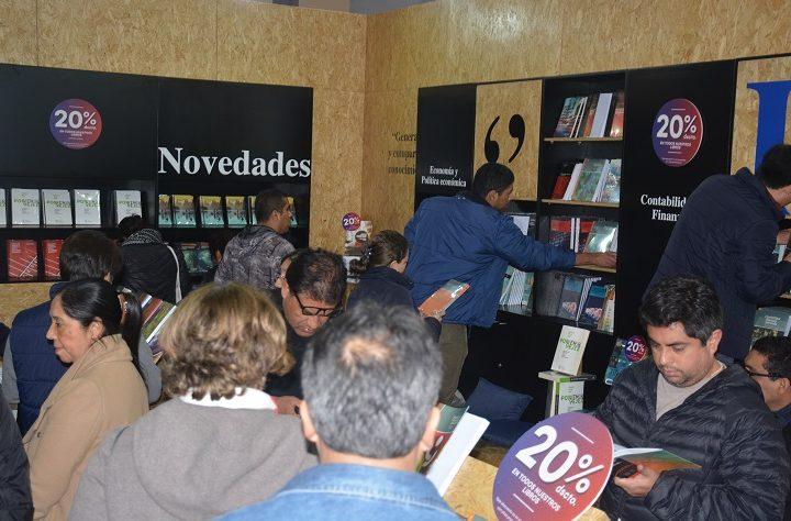 Fondo Editorial de la Universidad del Pacífico participó en la 23ª FIL con éxito
