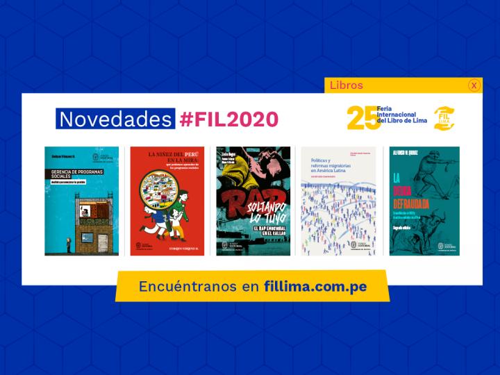 Lo nuevo del Fondo Editorial de la UP para la FIL 2020